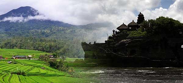 Jatiluwih and Tanah Lot
