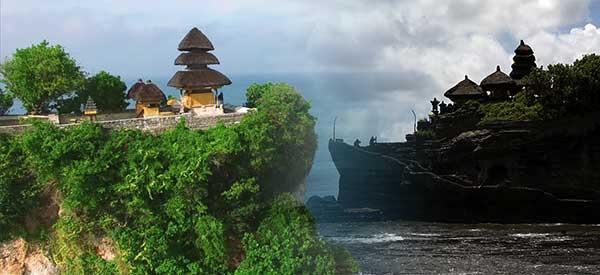 Tanah Lot and Uluwatu